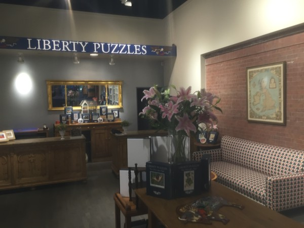 Liberty Puzzles store lobby