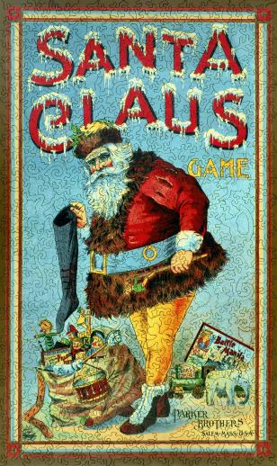 Santa Claus Game - Liberty Puzzles - 8
