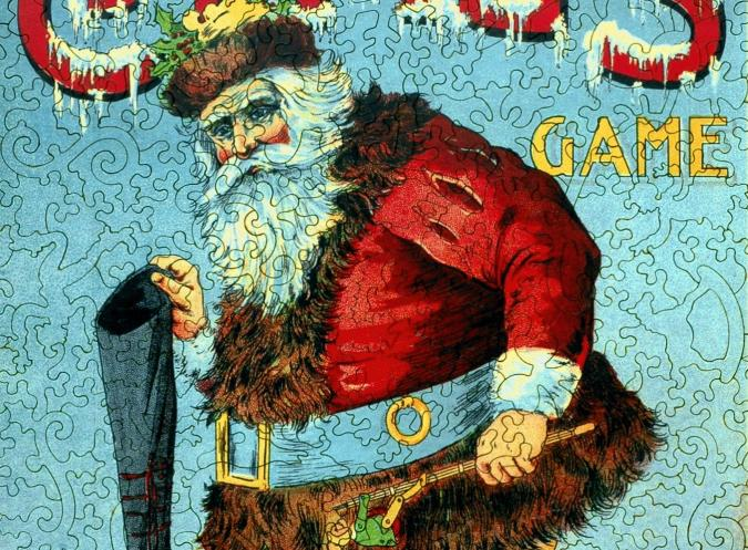 Santa Claus Game - Liberty Puzzles - 9