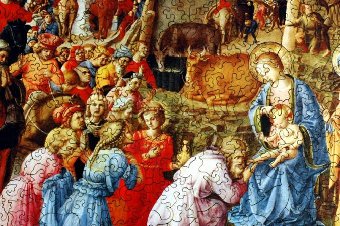 Adoration of the Magi - Liberty Puzzles - 8
