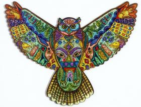 Great Horned Owl XS - Liberty Puzzles - 1