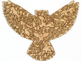 Great Horned Owl XS - Liberty Puzzles - 2