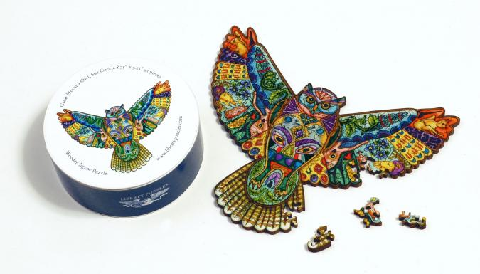 Great Horned Owl XS - Liberty Puzzles - 7