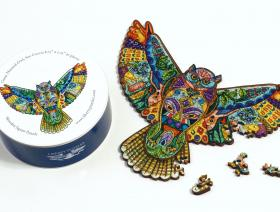 Great Horned Owl XS - Liberty Puzzles - 3