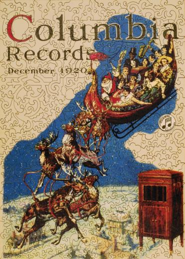 Columbia Records Christmas - Liberty Puzzles - 8