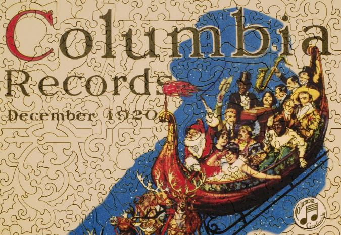 Columbia Records Christmas - Liberty Puzzles - 9