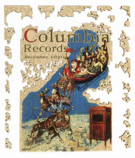 Columbia Records Christmas - Liberty Puzzles - 12