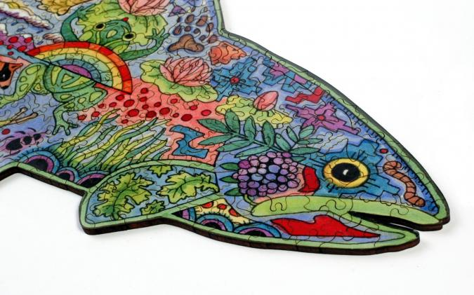 Rainbow Trout - Liberty Puzzles - 12