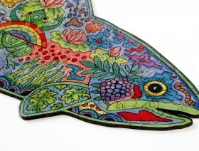 Rainbow Trout - Liberty Puzzles - 6