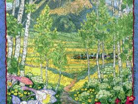 The Woods Walk, Crested Butte, Colorado - Liberty Puzzles - 2