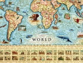 The World Map - Liberty Puzzles - 3