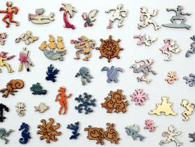Summer Fashion Number - Liberty Puzzles - 5