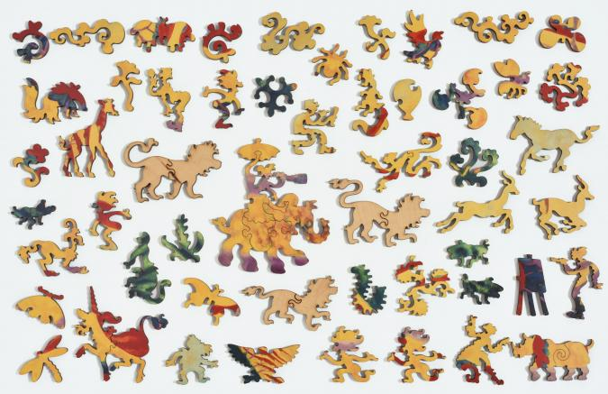 Lion Stroll - Liberty Puzzles - 12