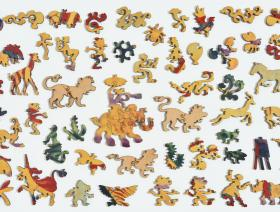 Lion Stroll - Liberty Puzzles - 5