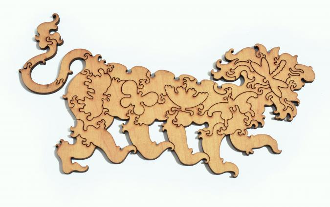 Lion Stroll - Liberty Puzzles - 13