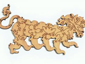 Lion Stroll - Liberty Puzzles - 6