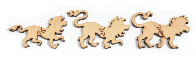 Lion Stroll - Liberty Puzzles - 14