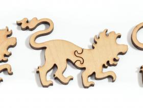 Lion Stroll - Liberty Puzzles - 7