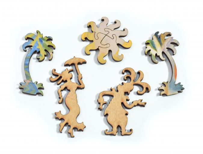 I Dreamed I was a Doorman at the Hotel Del Coronado - Liberty Puzzles - 14