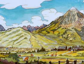 Crested Butte - Liberty Puzzles - 1