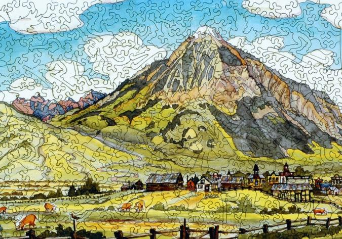 Crested Butte - Liberty Puzzles - 8