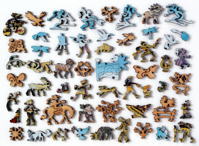 Crested Butte - Liberty Puzzles - 10