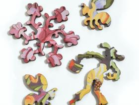 Summer Geraniums - Liberty Puzzles - 6