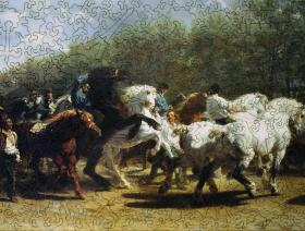 The Horse Fair - Liberty Puzzles - 2