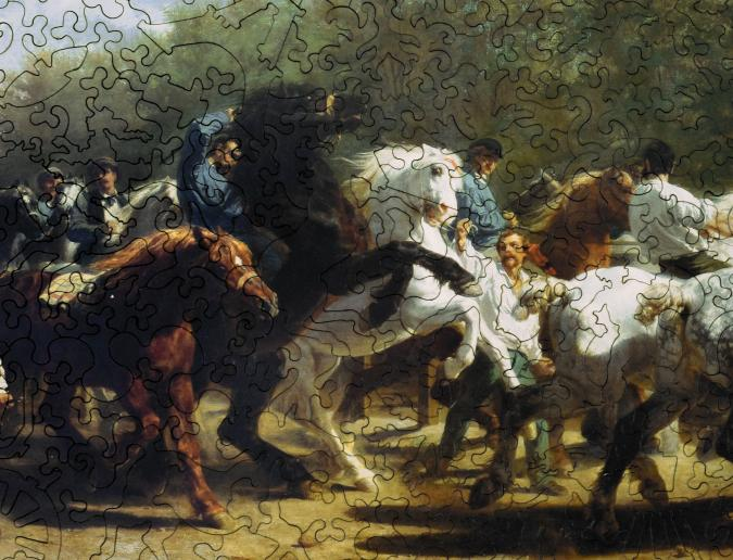 The Horse Fair - Liberty Puzzles - 9