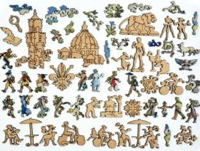 Florence - Liberty Puzzles - 5