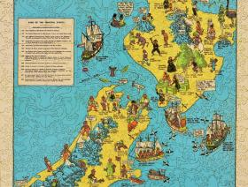 Historical Map of New Zealand - Liberty Puzzles - 2