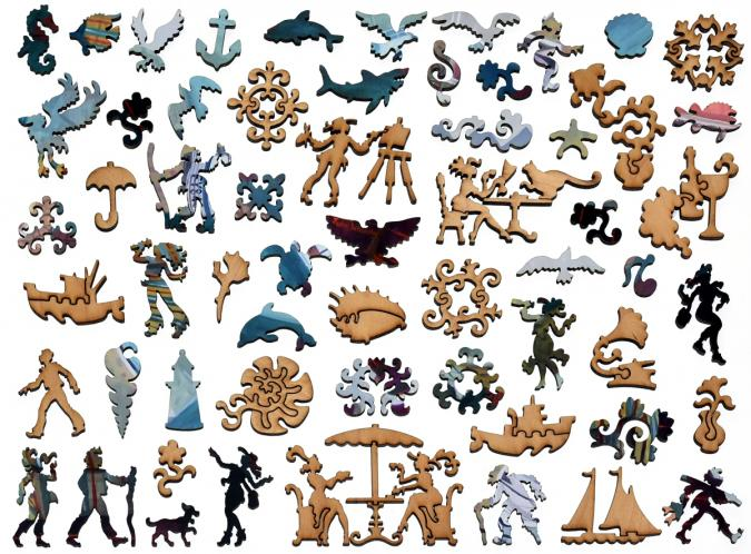 The Best Sea View - Liberty Puzzles - 12