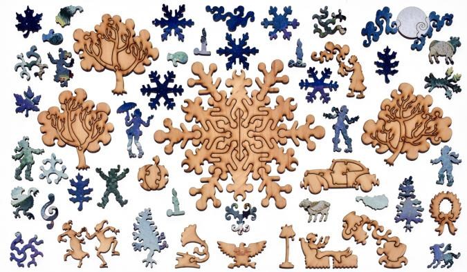 First Sprinkling - Liberty Puzzles - 12