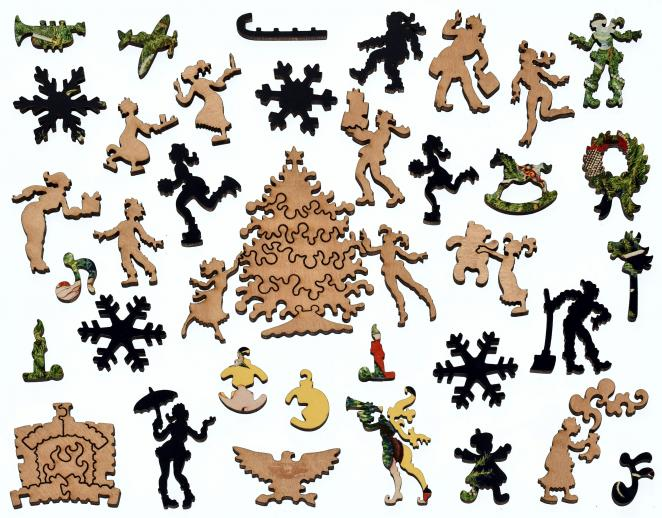 Vogue Christmas Gifts Number - Liberty Puzzles - 14