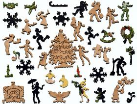 Vogue Christmas Gifts Number - Liberty Puzzles - 5