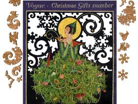Vogue Christmas Gifts Number - Liberty Puzzles - 9