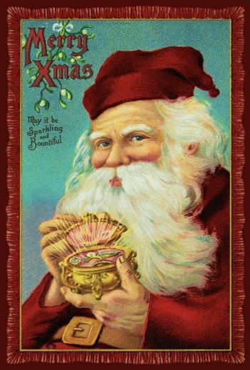 Jewel Box Santa - Liberty Puzzles - 6