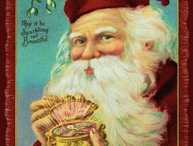 Jewel Box Santa - Liberty Puzzles - 1