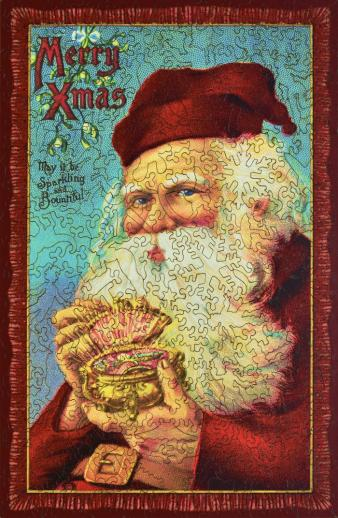 Jewel Box Santa - Liberty Puzzles - 7