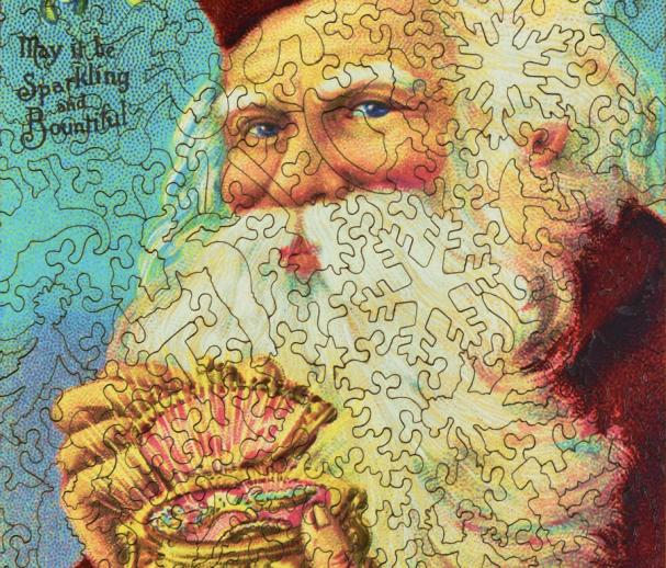 Jewel Box Santa - Liberty Puzzles - 8