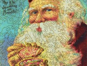 Jewel Box Santa - Liberty Puzzles - 3
