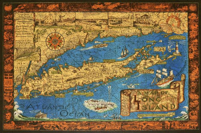Map of Long Island - Liberty Puzzles - 12