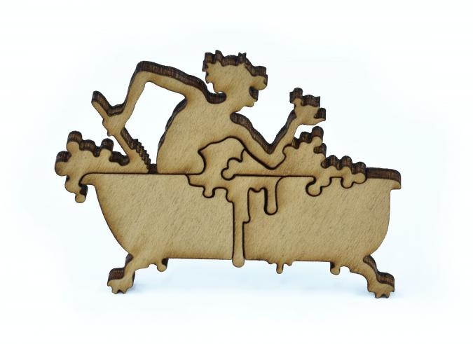 Relaxed in Spite of It - Liberty Puzzles - 18