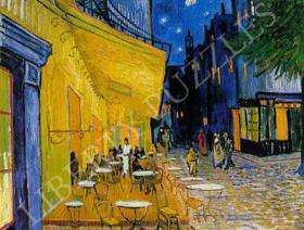 Cafe Terrace on the Place du Forum Small - Liberty Puzzles - 1