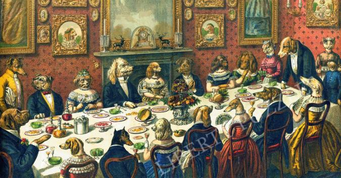 The Dogs Dinner Party - Liberty Puzzles - 7