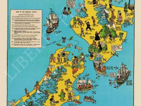 Historical Map of New Zealand - Liberty Puzzles - 1