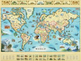 The World Map - Liberty Puzzles - 1