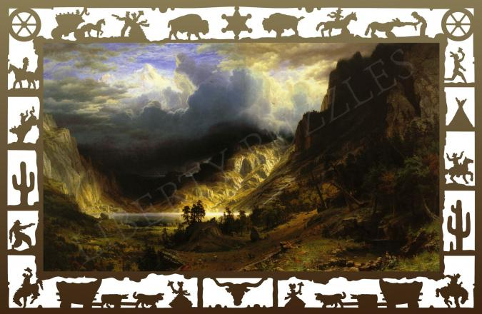 Storm in the Rocky Mountains - Liberty Puzzles - 6