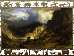 Storm in the Rocky Mountains - Liberty Puzzles - 1