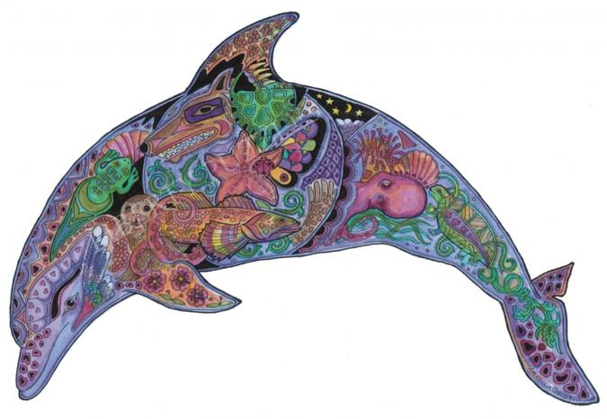 Dolphin - Liberty Puzzles - 6